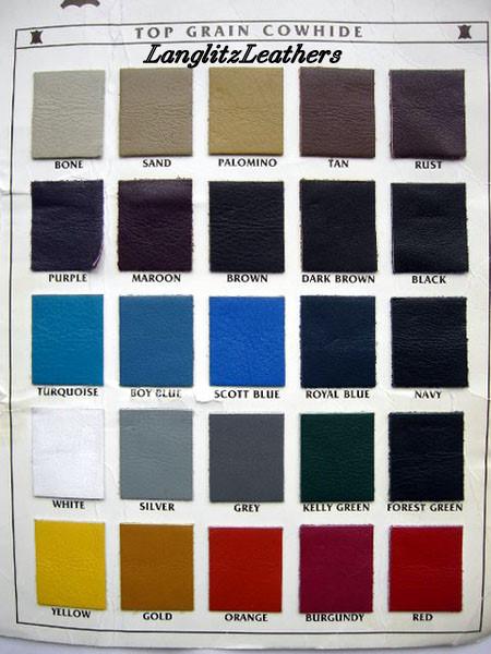 Colors Langlitz Leathers